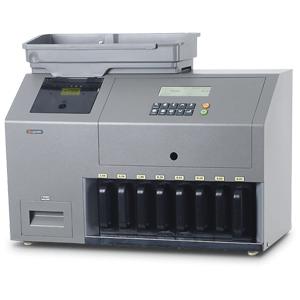מכונות ספירה מיון ובדיקת מטבעות